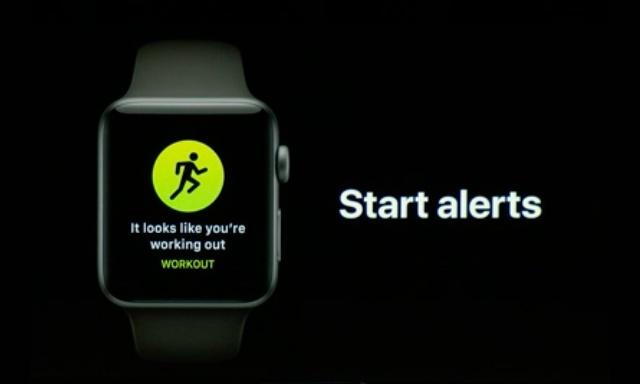 auto-workout detection alerts watchos 5