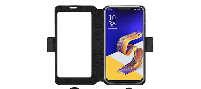 10. Acm SVIEW Window Designer Case for Asus Zenfone 5Z