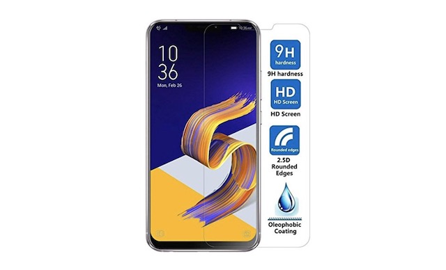 8. Helix Tempered Glass for Asus Zenfone 5Z