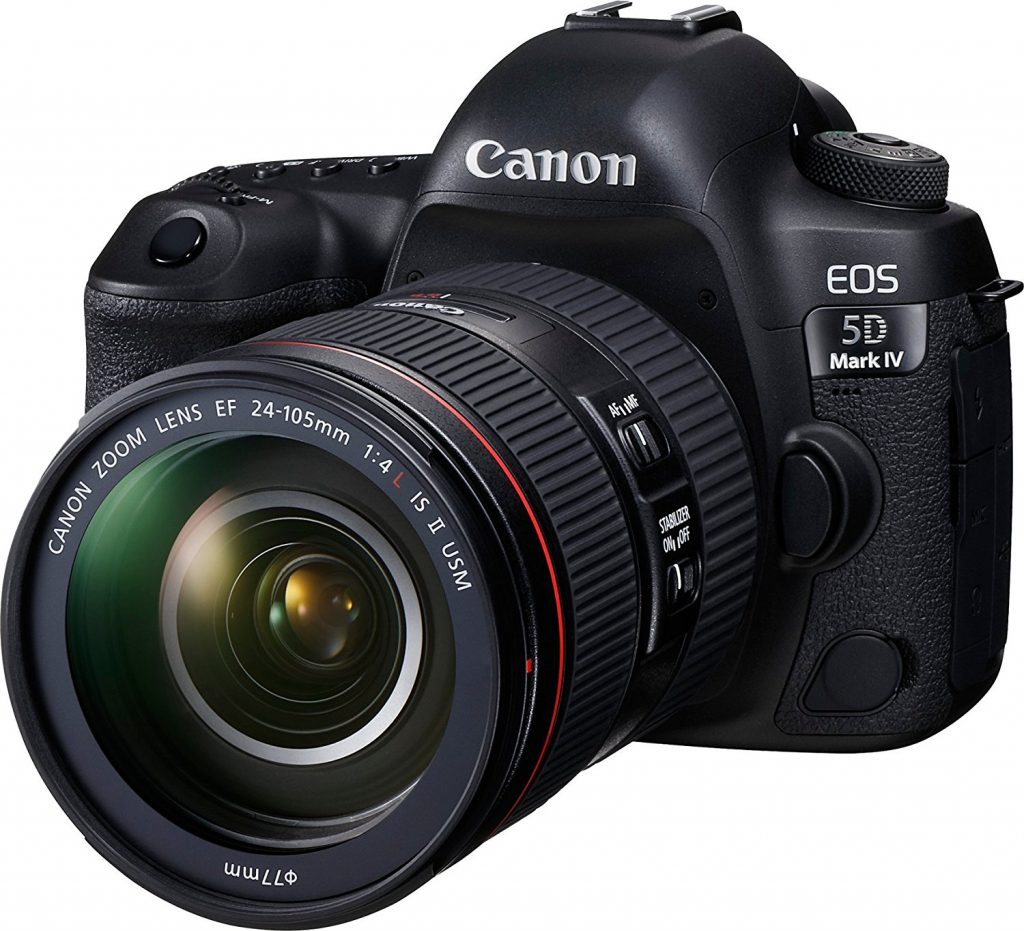 Canon 5D Mark IV 4K shooting cameras