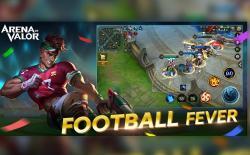 Arena of Valor Football Fever website