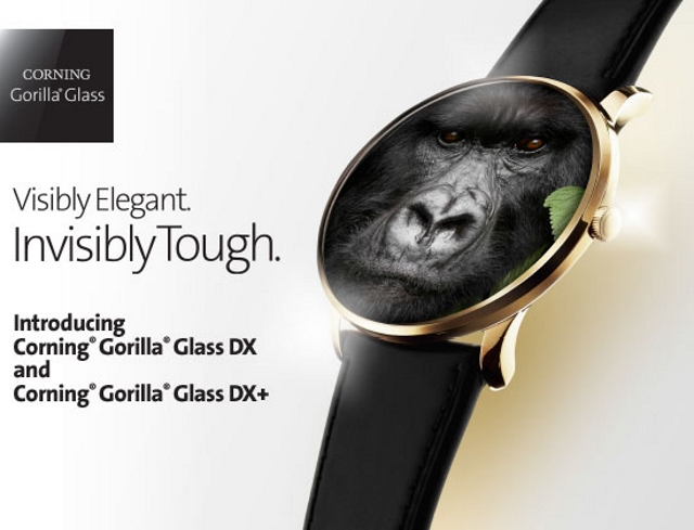 Corning Introduces New Gorilla Glass DX and DX+ for Wearables