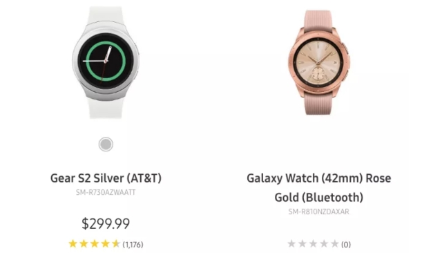 Samsung's Upcoming Galaxy Watch Drops In Early On Official Website