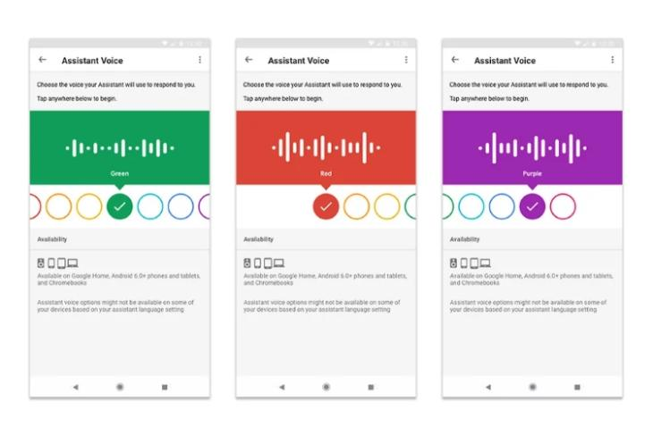 Google Assistant New Colors Featured
