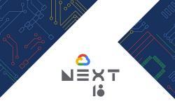 Google Cloud Next18 website