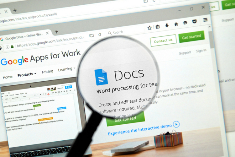 how to delete a page off google docs