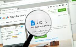 Google Docs Shutterstock website