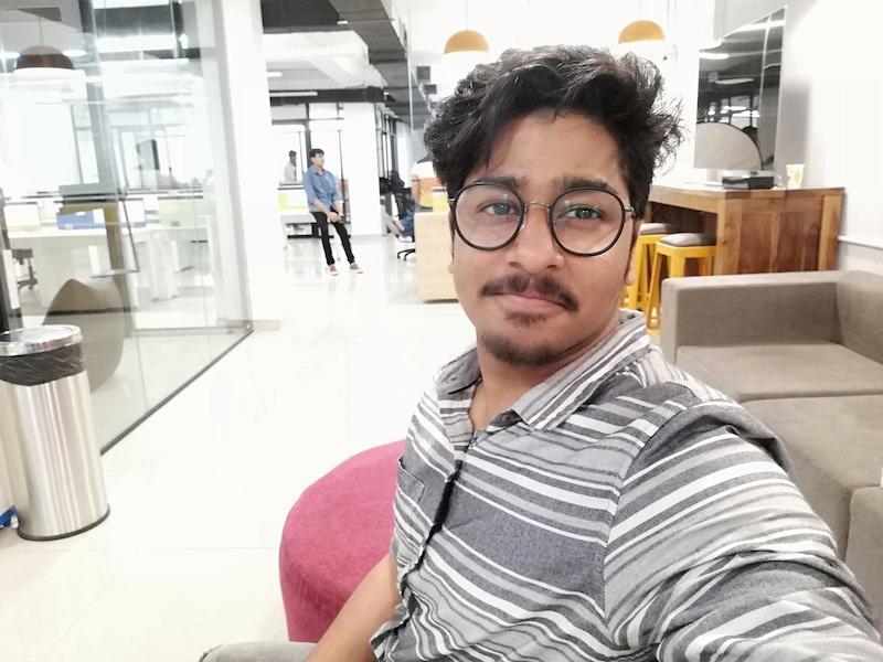 Honor 9N Selfie3