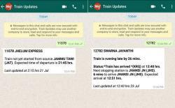 MakeMyTrip WhatsApp Train Status featured