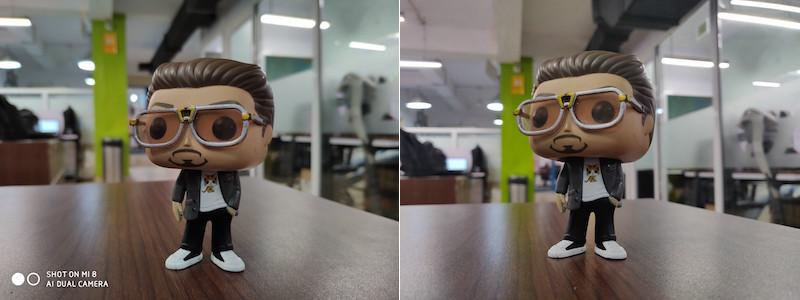 Mi 8 vs OnePlus 6 camera 1