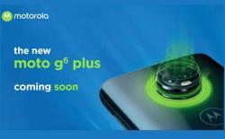 Moto G6 Plus Teaser website