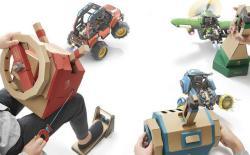Nintendo Labo Vvehicle Kit website