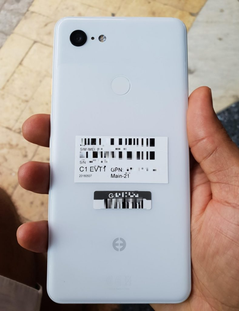 Google Pixel 3 XL White Variant Leaked, and You Don't Wanna
