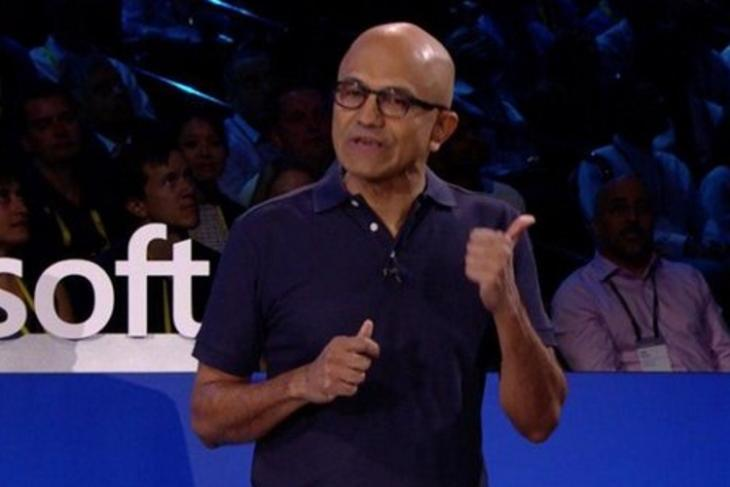 Satya Nadella Microsoft Inspire Featured
