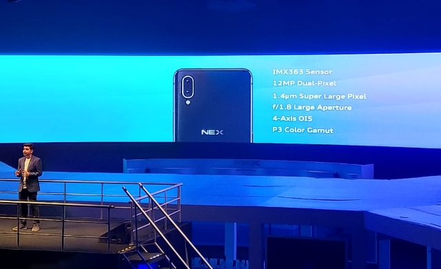 Vivo Nex Flagship Launched in India at Rs. 44,990, Comes with Motorized Selfie Camera