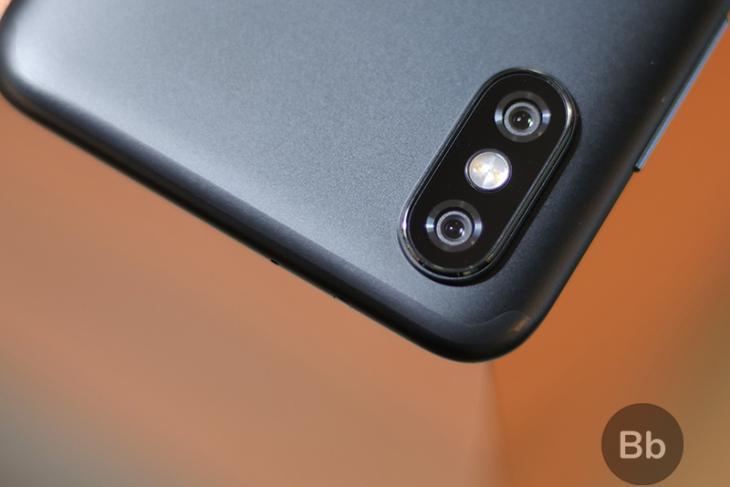 Xiaomi mi 6x rear camera