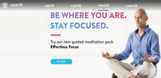 Health-Tech Startup Cure.fit Raises $120 Million in Series C Funding