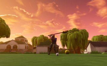 fortnite golf in-game