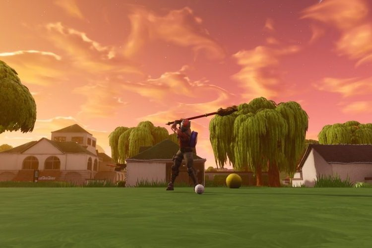 fortnite golf in-game