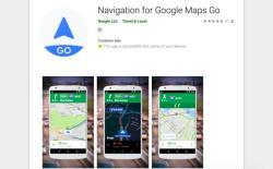 google maps go nav