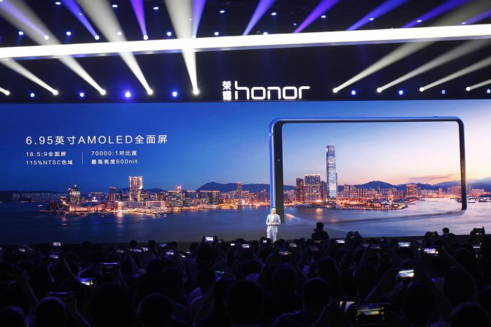 honor note 10 display