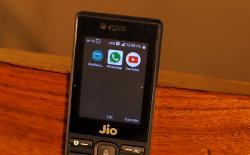 jiophone whatsapp youtube feature
