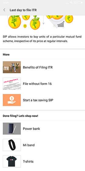 Your Xiaomi Smartphone Will Help You File Income Tax Return Before Due Date