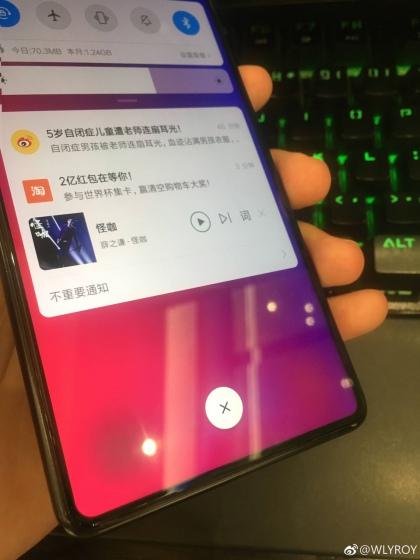 Xiaomi Mi Mix 3 Leaked Images Show Bezel-less Display, Pop-Up Selfie Camera