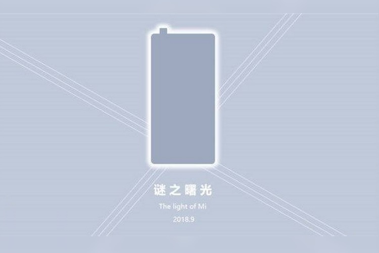 Xiaomi's Mi MIX 3 with Pop-up Selfie Camera Might Arrive in September