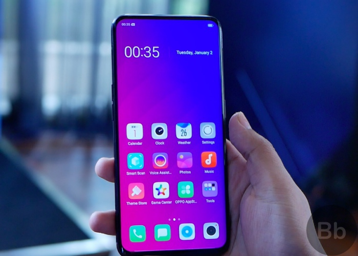 Best Budget Smartphones with Face Unlock: Oppo Find X