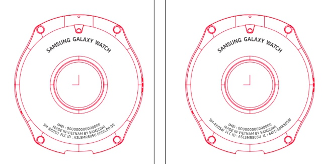 Samsung Galaxy Watch Rumored To Launch in Two Different-Sized Variants