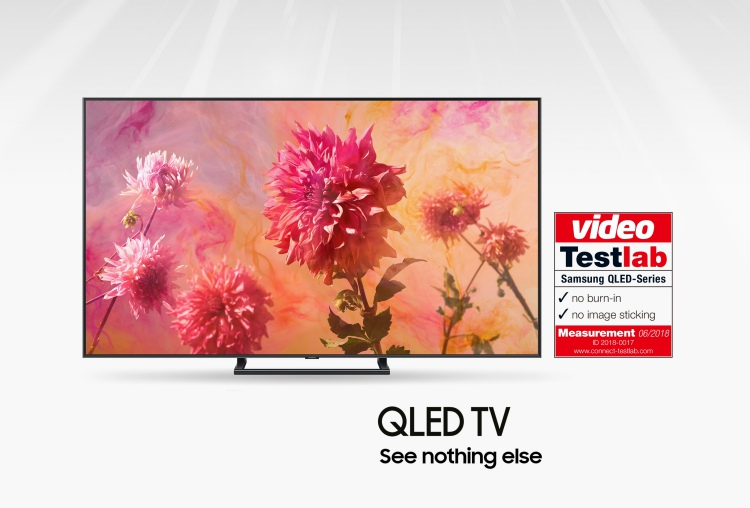 Extensive Tests Prove Samsung QLED TVs Are Free Of Any Burn