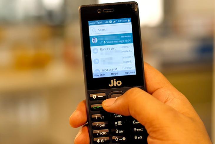 whatsapp og jiophone