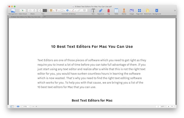 1 Kdan Mobile PDF Reade