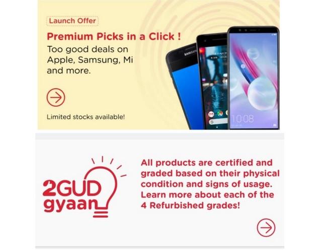 Flipkart Launches 2GUD Platform for Selling Refurbished Phones, Laptops and More