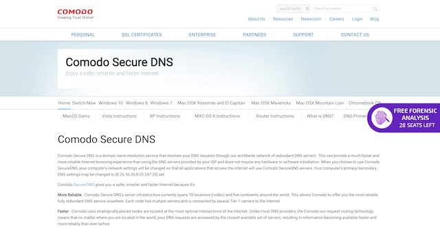 7 Best DNS Servers in 2019 (Free and Public)