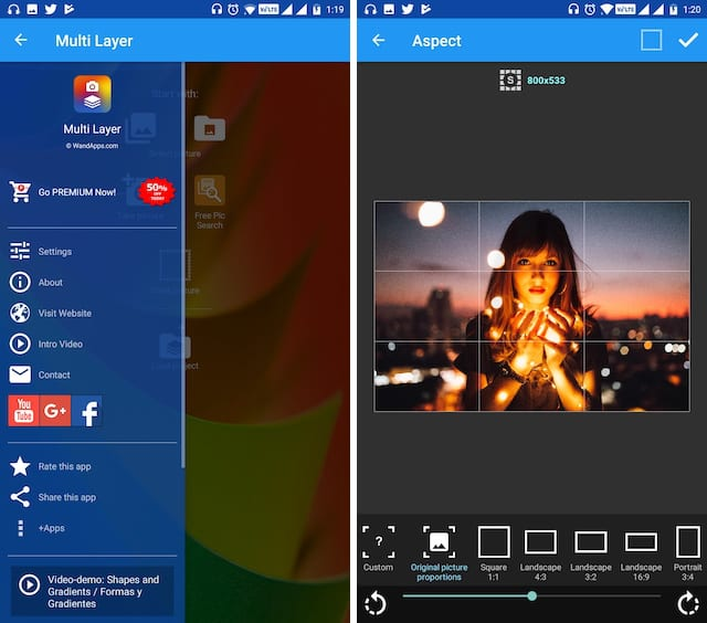 5. Multi Layer - Photo Editor