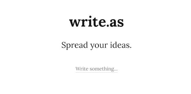 7. Write