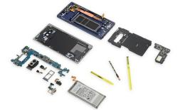 Galaxy Note 9 iFixit website