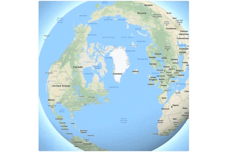 Earth Is No Longer Flat On Google Maps, Thanks to Globe Mode | Beebom