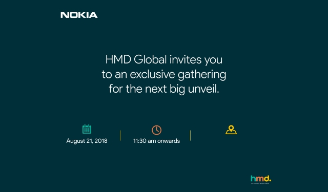 HMD Global Announces New Delhi Event For August 21; Nokia 6.1 plus Expected