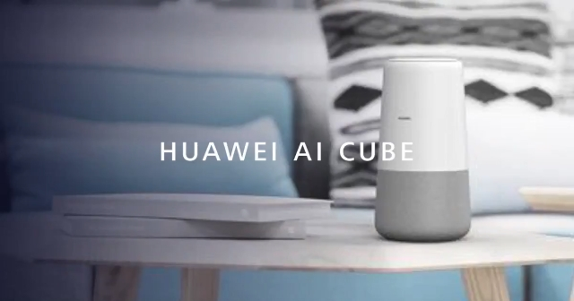 Huawei Launches Alexa Powered AI Cube, Which Is Shaped like a Cylinder!
