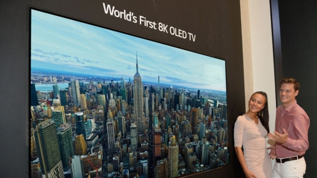 LG Launches World's First 8K OLED TV at IFA 2018