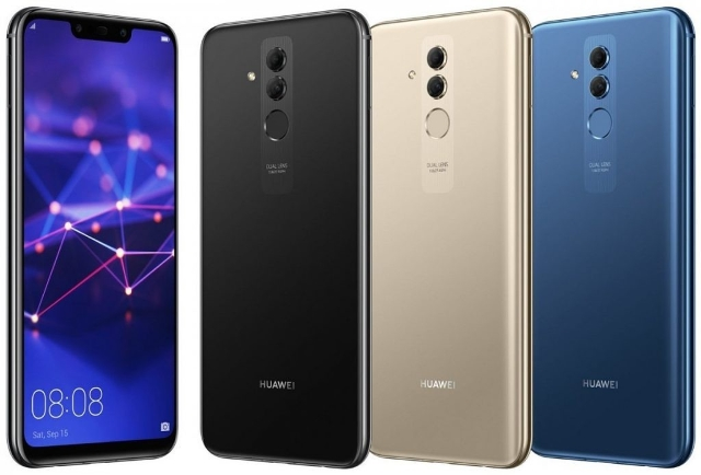 Huawei Launches Mate 20 Lite With Quad Cameras and Kirin 710 at IFA 2018
