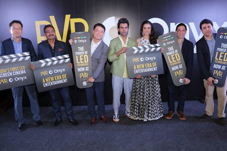 PVR Launches India's First 4K Onyx Cinema LED Screen From