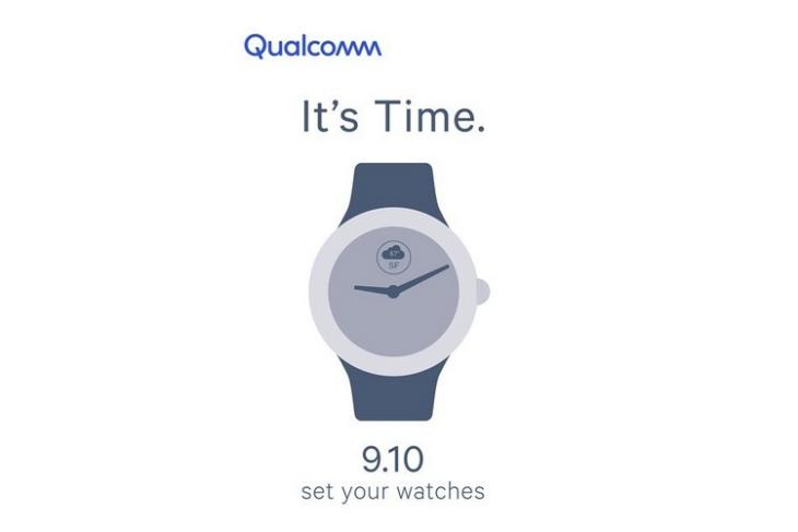 Snapdragon Wearables invite website