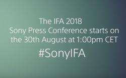 Sony IFA 2018 Featured