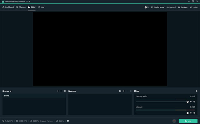 Streamlabs OBS Game Recording Software