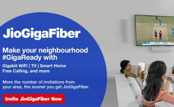 Jio GigaFiber preview offer