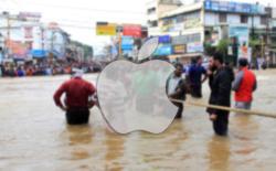 apple kerala floods